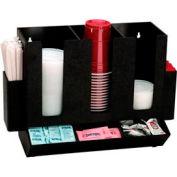 Coupe de comptoir Dispense-Rite®, couvercle, paille et Condiment organisateur