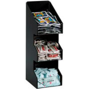 Dispense-Rite® comptoir Vertical 3 Section couvercle/Condiment organisateur