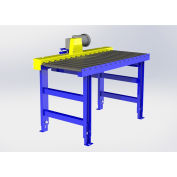 """Omni Metalcraft Chain Driven Live Roller Conveyor, 1.9"""" Dia. Rollers, 1/2 HP - 5'L x 36""""W"""
