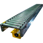 "Omni Metalcraft Lineshaft 5' Slave Conveyor LSSS1.9X16-13-3-5 - 1.9"" Dia. - 13""BF"