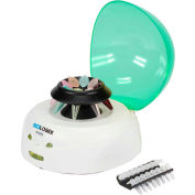 SCILOGEX D1008 EZee mini centrifugeuse, 8 Place 1,5/2ml Microtube Rotor et PCR, vert