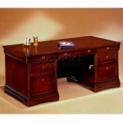 "Flexsteel Executive Desk - 72""L x 36""W x 30""H - Rue De Lyon Series"