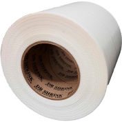 "Dr. Shrink Heat Shrink Tape 6""W x 180'L 9 Mil Pinked Edge White - Pkg Qty 8"