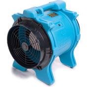 Dri Eaz® Vortex Axial Airmover F174-BLU - 1 HP 2041 pi³/min