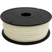 3D Stuffmaker PLA 3D Printer Basic Filament, 1.75mm, 1 kg, Ivory
