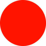 "Fluorescent Red 2"" Dia. Discs"