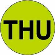 "Thu 2"" Dia. - Fluorescent Green / Black"