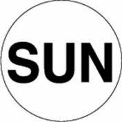 "Sun 1"" Dia. - White / Black"