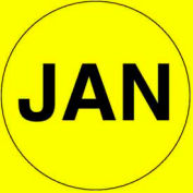 "Jan 2"" - Bright Yellow / Black"