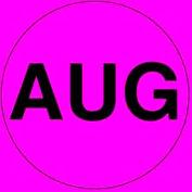 "Aug 2"" - Fluorescent Pink / Black"