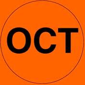 "Oct 2"" - Fluorescent Orange / Black"