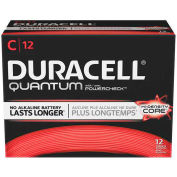 Duracell® QU1400 C Quantum Alkaline Batteries - Pkg Qty 12