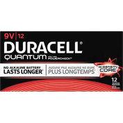 Duracell® QU1604BKD 9V Quantum Alkaline Batteries - Pkg Qty 12