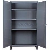 """Durham Heavy Duty Storage Cabinet - 12 Gauge - HDC-243666-3S95 - 36""""W x 24""""D x 66""""H"""
