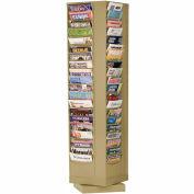 80 Pocket Rotary Literature Rack - Putty