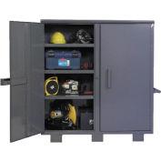 """Durham Job Site stockage armoire JSC-602460-95 - 60"""" L x 24 «P x 60"""" H"""