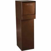 dVault Thru-Wall Package Drop Vault Plus DVWM0062SA w/Bottom Hold Rear Access - Copper Vein