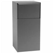 dVault dépôt Vault boîte aux lettres et colis Drop DVCS0020 - Free Standing - accès arrière - gris