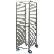 Winco ALRK-30BK 30-Tier Aluminum Rack W/ Brake
