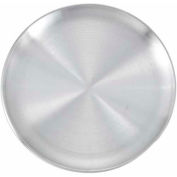 Winco APZC-9 Coupe Rim Pizza Pan - Pkg Qty 36