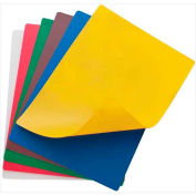"Winco CBF-1218 Flexible Cutting Mats, 12""L, 18""W, Assorted Colors - Pkg Qty 12"