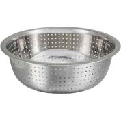 "Winco CCOD-11S Chinese Style Colander, 11""D, Stainless Steel - Pkg Qty 24"