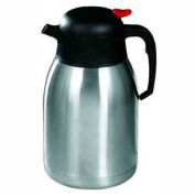 Winco CF-2.0 Stainless Steel Lined Carafe, 2 L - Pkg Qty 4