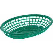 Winco PFB-10G Oval Fast Food Baskets - Pkg Qty 3