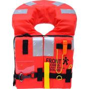 VeleriaSan Giorgio VSMK10CM VSG Life Jacket, SOLAS/MED, Orange, Child