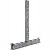 """Cantilever Rack Double Sided Upright (3000 Series) 106""""W x 12'H - DU12106-NS"""
