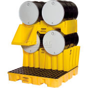 Eagle 1605 Drum Cradle - Holds One Drum - Yellow