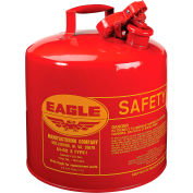 Eagle Type I Safety Can - 5 Gallons - Red, UI-50-S