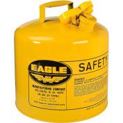Eagle J'ai tapez sécurité Can - 5 Gallons - jaune, UI-50-SY