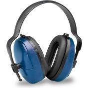 Elvex® ValueMuff™ Earmuff, HB-25, Dielectric, NRR 25, Blue/Black