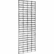 4'W X 4'H - Slatgrid Panel Chrome - Pkg Qty 3