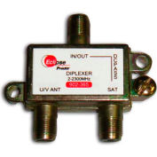 Eclipse Tools 902-365 Satellite Diplexer, 2-2300 MHz Bandwidth, 1 Input, 2 Outputs