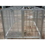 Roof Top Expanded Metal Cage 5' X 7' X 4' , T-Rex5x7