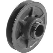 """Single-Groove Variable Pitch Sheave, 1/2"""" Bore, 3.75"""" O. D., 1VL40X1/2"""