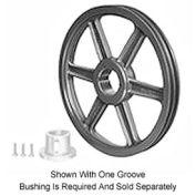 Browning Cast Iron, 2 Groove, Split Taper 358 Sheave, 2F3V28X7/8