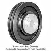 Browning Cast Iron, 1 Groove, QD 358 Sheave, 13V412SH