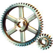 20 Pressure Angle, 10 Diametral Pitch, 40 Tooth Bushed Spur Gear