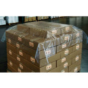 """Pallet Top Sheet 75"""" x 75"""" 1.25 Mil Clear 200 Pack"""
