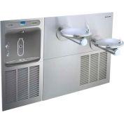 Elkay LZWS-SFGRN28K EZH20 Filtered InWall Bottle Station w/Bi-Level Swirlflo