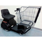 Electro Kinetic Technologies EZ-Shopper Electric Grocery Cart EZS-1772-8000-BL Black 750 Lb. Cap.