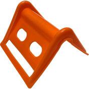"Encore Packaging Plastic Corner Guard Edge Protector, 4""L x 5""W x 4""H, Orange"