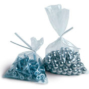 "Flat Poly Bags 5""W x 5""L 1.5 Mil Clear 3,000 Pack"
