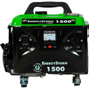 Lifan Power USA ES1500-CA, 1200 Watts, Portable Generator, Gasoline, Recoil Start, 120V