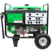 Lifan Power USA ES8250E, 7500 Watts, Portable Generator, Gasoline, Electric/Recoil Start, 120/240V
