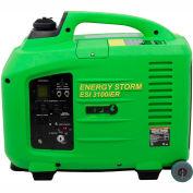 Génératrice convertisseur Lifan Power USA ESI-3100iER, 3100 W, essence/électrique/amortissement/démarrage à distance, 120 V
