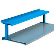 """Equipto® Production Booster 454T60-BL, 60"""" W X 14"""" H, 1 étagère, bleu royal"""